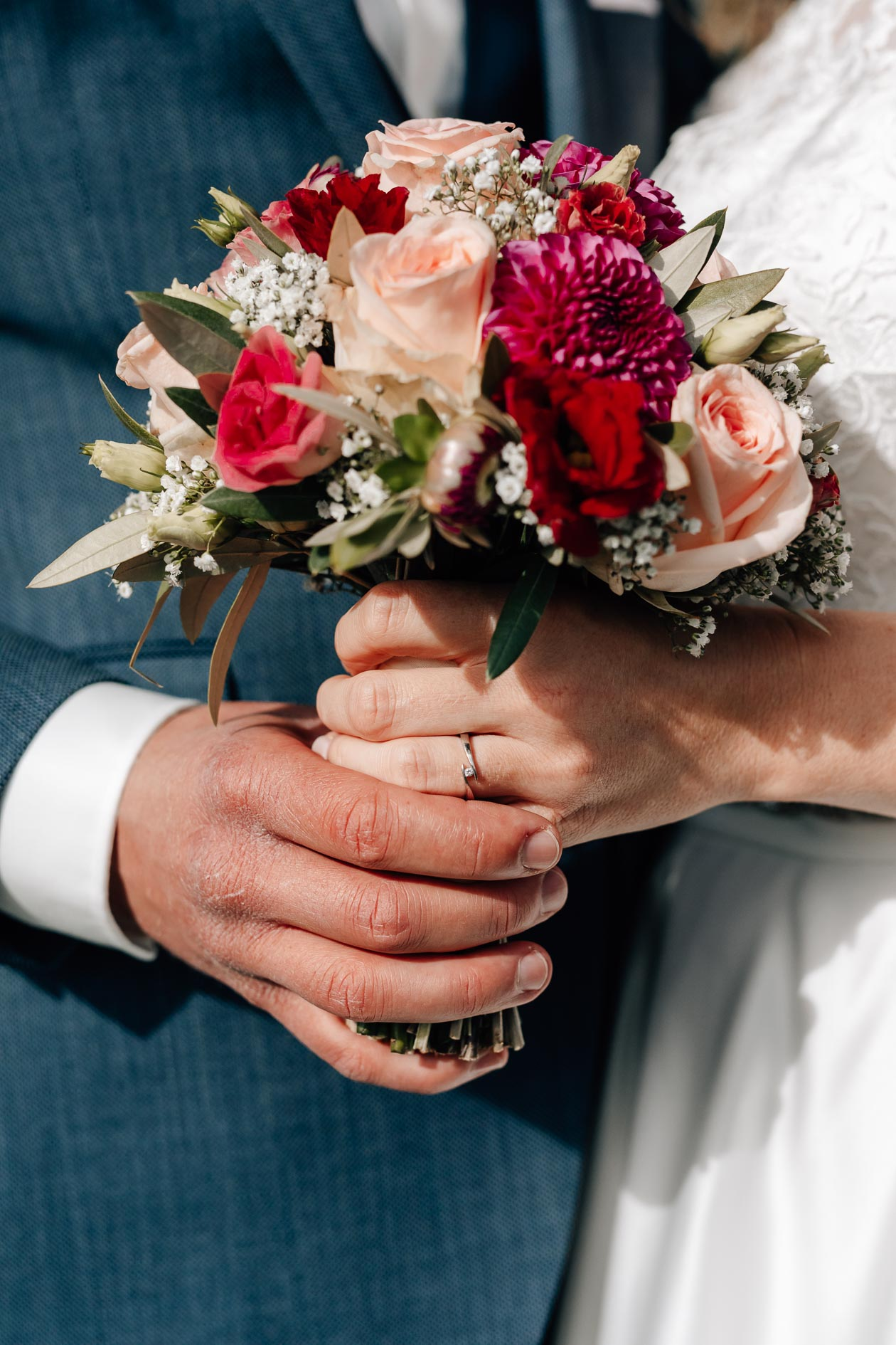 Bilder vom Brautpaar Kirchenreportage Pittenhart Die Lichtzeichnerin Simone Lerner Fotografie 58
